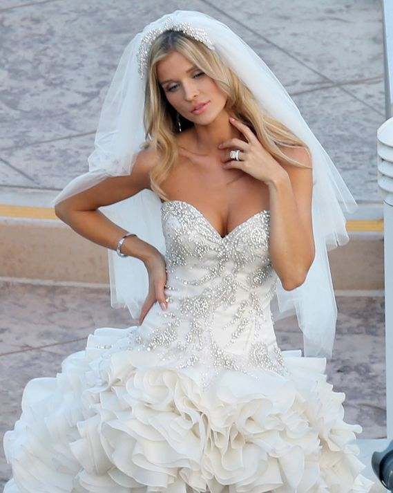 This was a high low wedding gown design that you can have made with ...