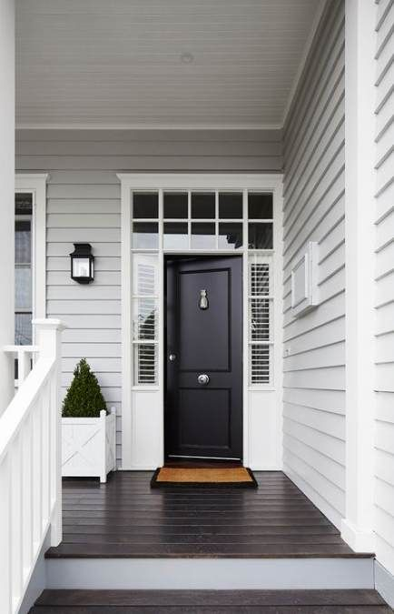 43+ Ideas for exterior house colors weatherboard colour schemes #greyexteriorhousecolors
