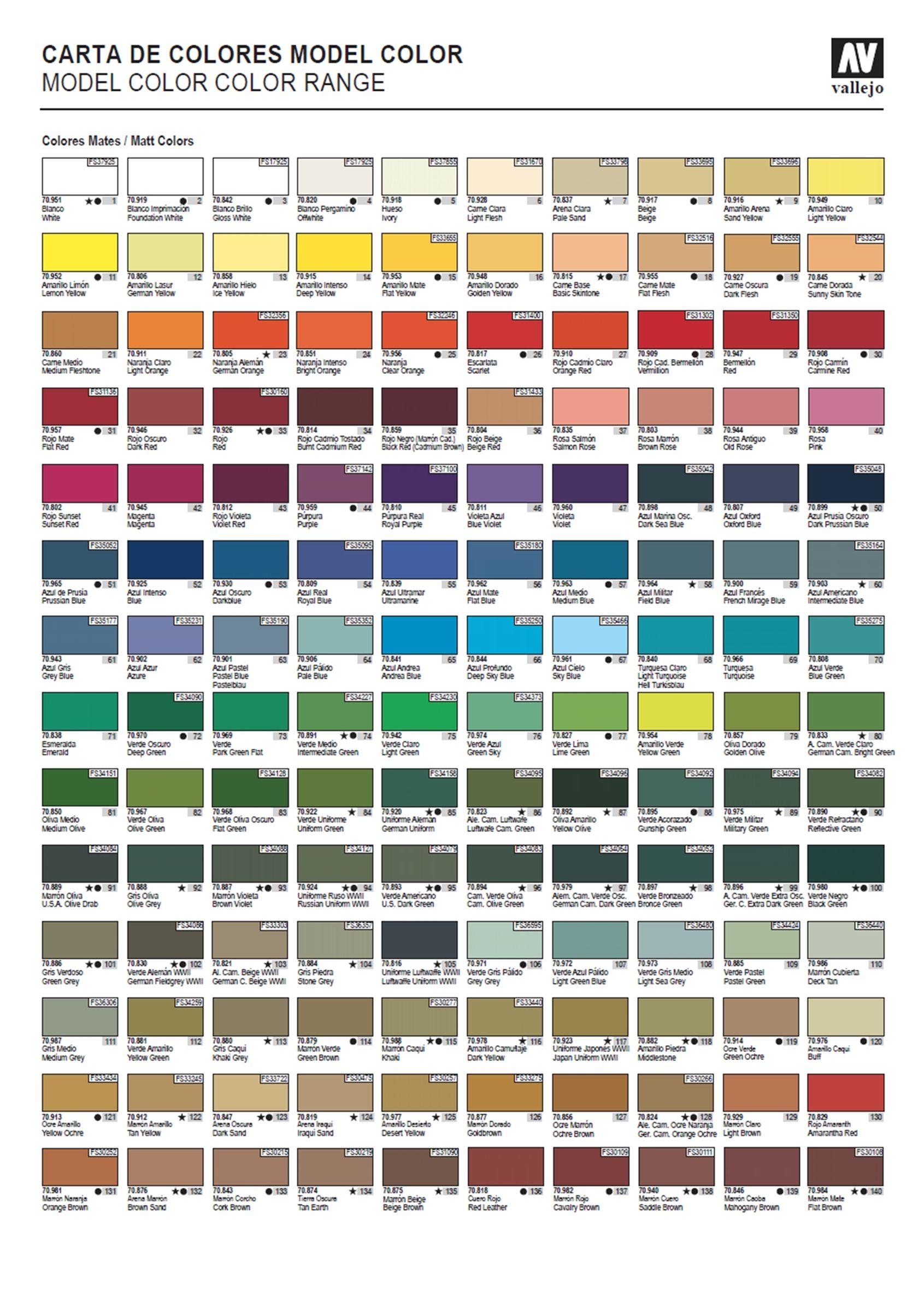 Vallejo Model Color Pinterest