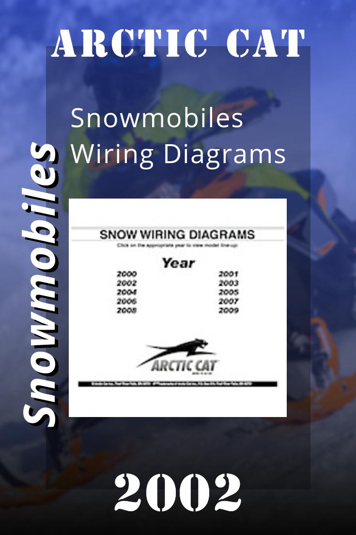 2002 Arctic Cat Snowmobiles Wiring Diagrams Arctic Snowmobile Cats