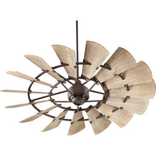 Found It At Wayfair 60 Windmill 15 Blade Ceiling Fan Windmill Ceiling Fan Ceiling Fan Farmhouse Ceiling Fan