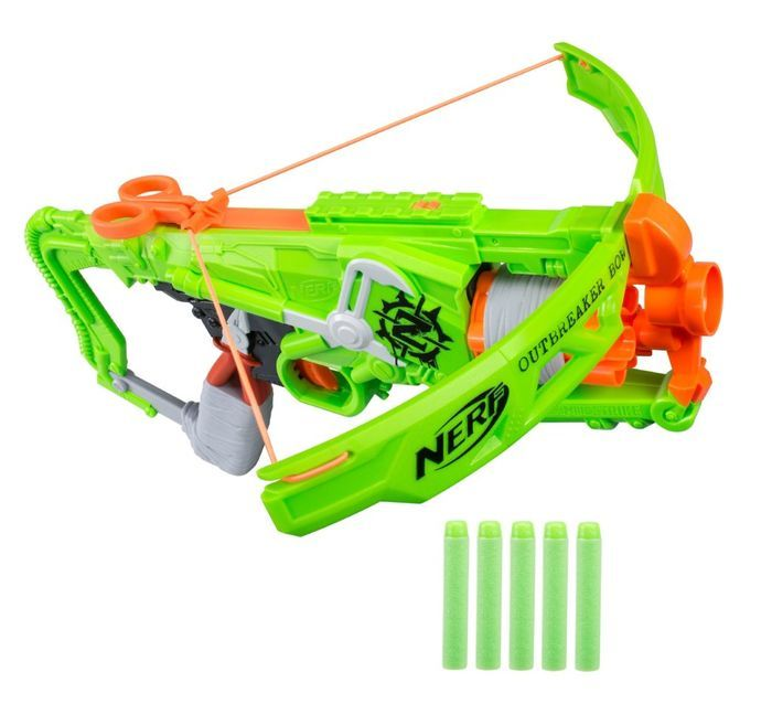 All Nerf Guns: The Ultimate List | Nerf Zombie Strike Outbreaker Bow