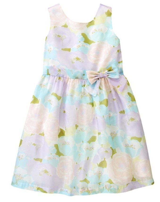 cb19b3a36a3b GYMBOREE Tea and Cake Party Floral Organza Easter Occasion Dress Size 10  NWT #Gymboree #140136720GYM001 # ...