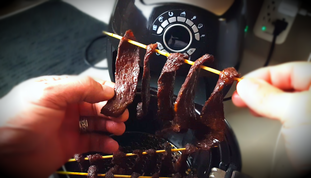 Air Fryer Beef Jerky Recipe jerky in 2020 (With images