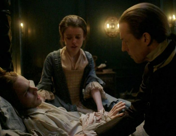 """Episode 212 """"The Hail Mary"""" of Outlander Season Two on Starz via www.outander-online.com"""