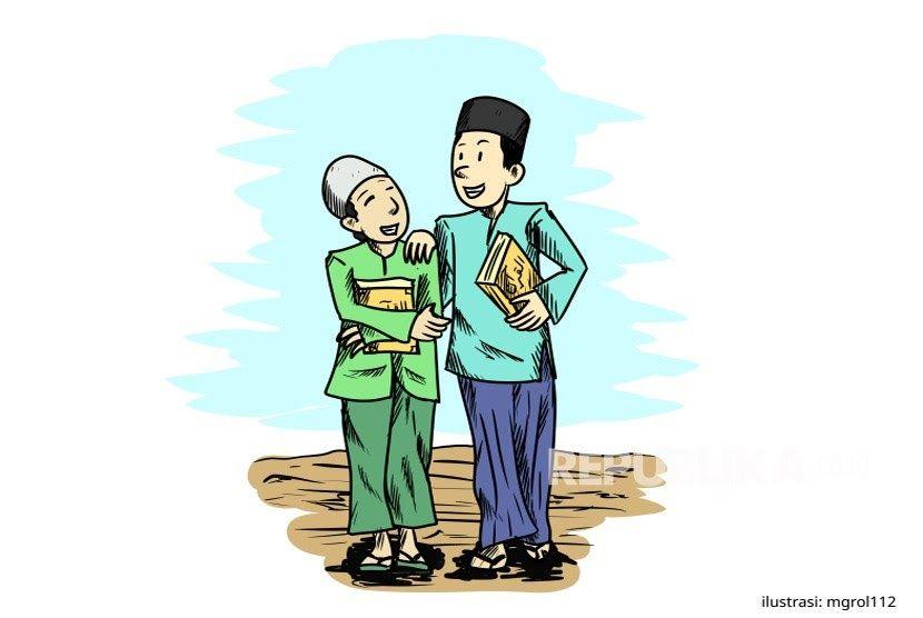 25 Gambar Kartun Hari Santri Nasional Ikrar Santri Indonesia Inilah Teks Amanat Hari Santri 2017 Inilah Kronologi Memperingati Har Kartun Gambar Kartun Komik