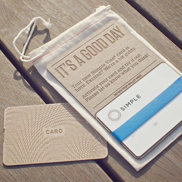 Simple Visa Card By Ian Collins Simple Bank Card Design