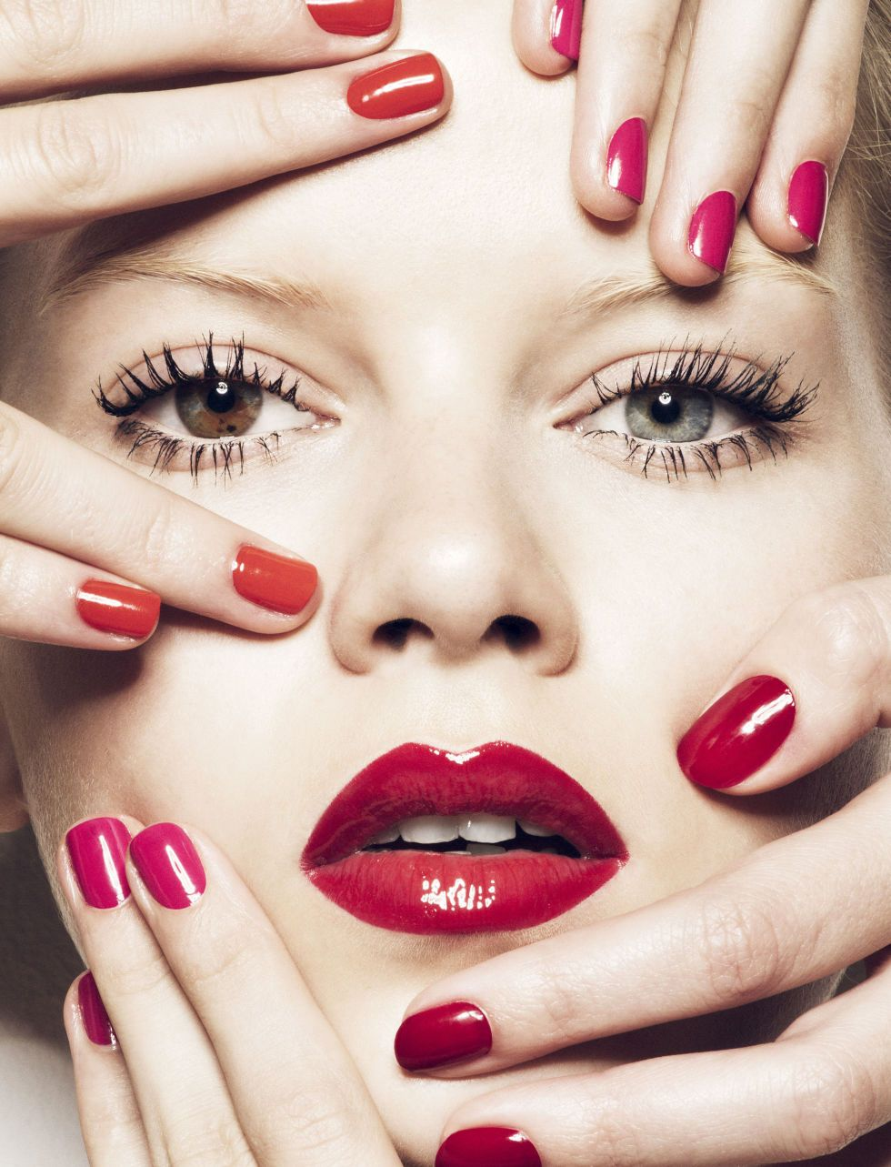 Brighten up your spring beauty with these chic nail polish and lipstick combos:
