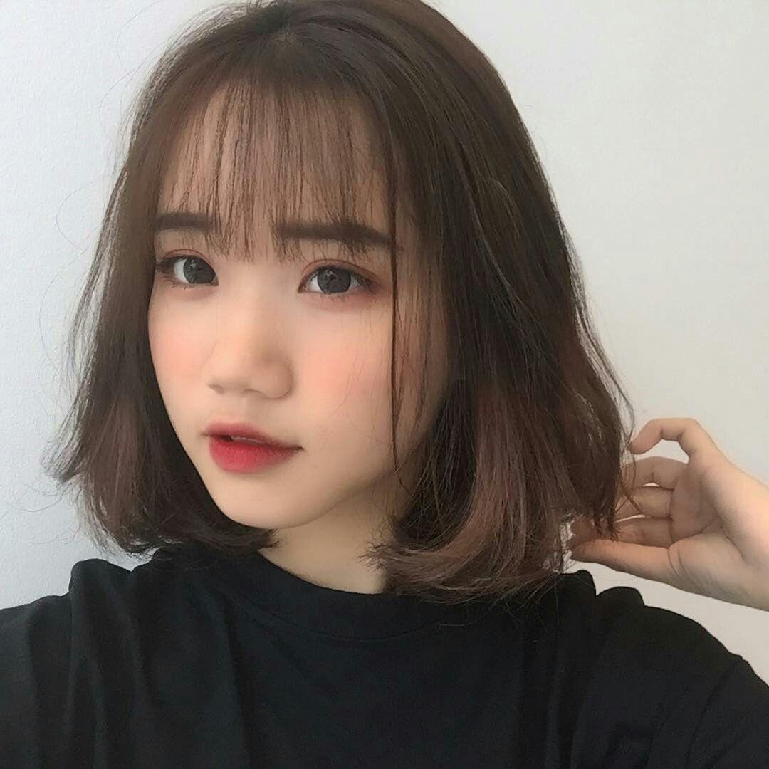 Pin by lulu on H A I R I N S P O  Korean short hair, Ulzzang