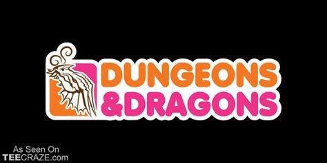 Cool Dungeons and dragons logo