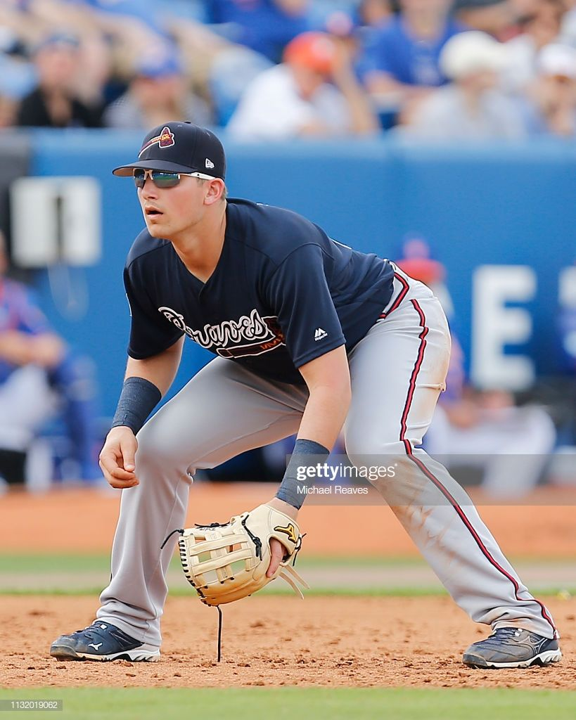 Austin Riley Of The Atlanta Braves In Action Against The New York Atlanta Braves Braves American Baseball League