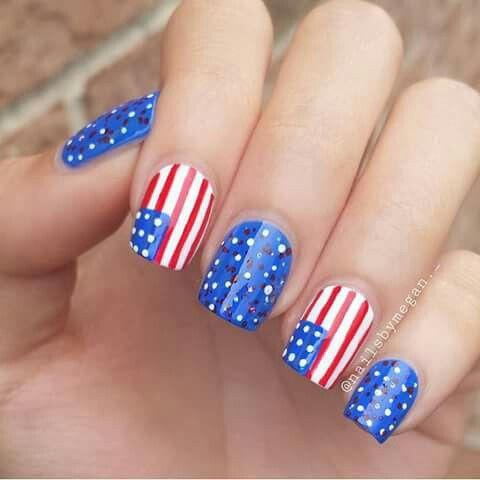 pinamber clark on nail art  colored acrylic nails