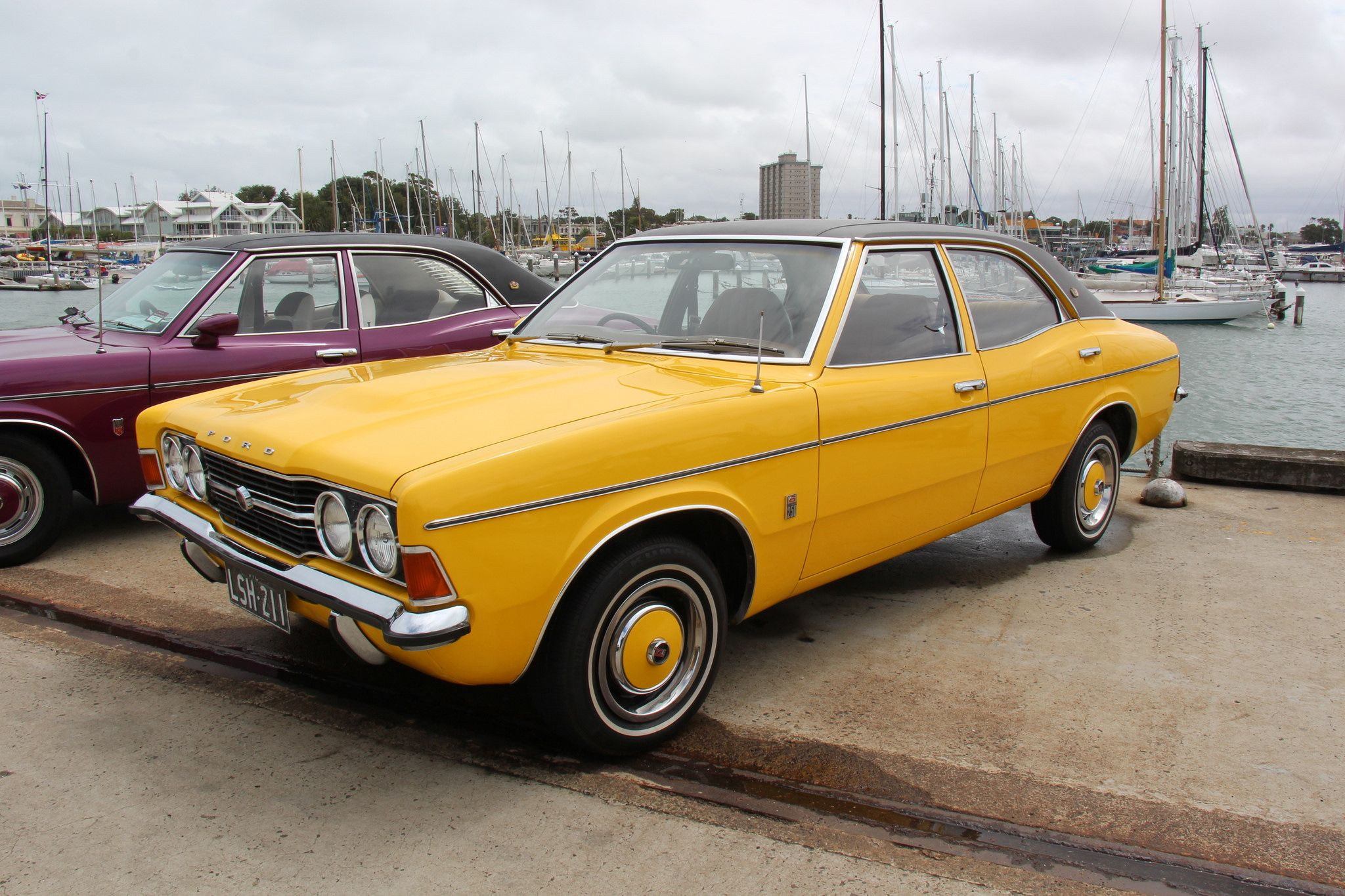 1972 Ford Tc Cortina Xle 250 Saloon With Images Aussie Muscle