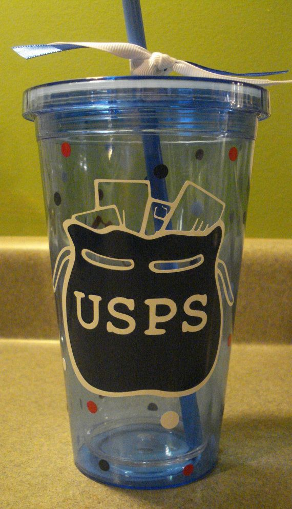 Personalized Mailman Tumbler