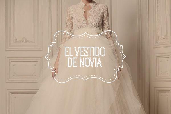 Tipos de blancos del vestido de novia