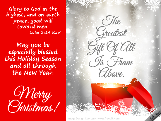 Share this ecard if you believe jesus is the greatest gift from send christmas blessings to your dear ones free online glory to god ecards on christmas m4hsunfo