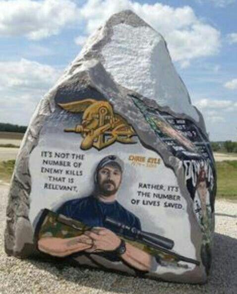 American Sniper Chris Kyle Memorial | Military | Famous