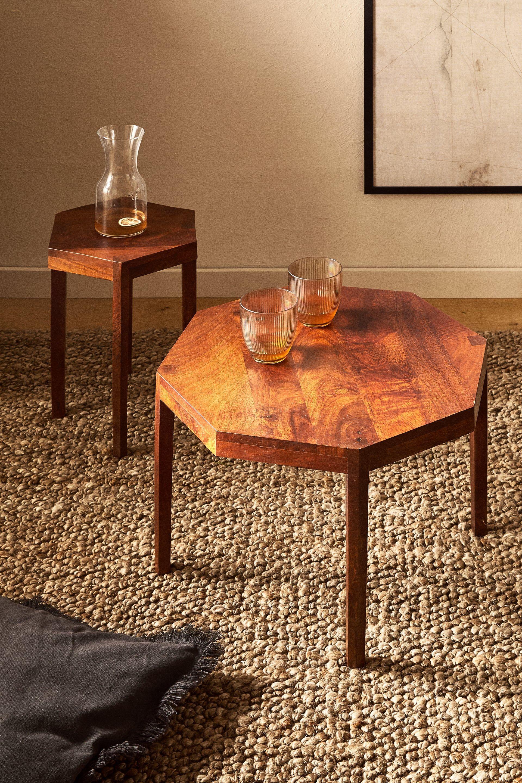 Octagon Shaped Table Zara United Kingdom In 2020 Octagon Table Zara Home Home Coffee Tables