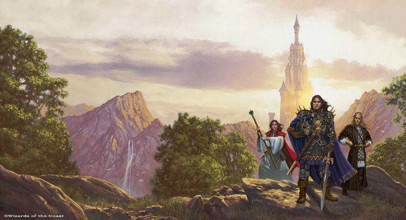 Dragonlance, The Second Generation by Matt Stawicki.