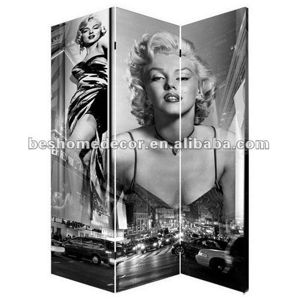 Marilyn Monroe Furniture,Canvas Screen,Folding Room Divider - Buy Folding Room  Divider,Canvas Screen,Marilyn Monroe Furniture Product on Alibaba.com - Marilyn Monroe Furniture,Canvas Screen,Folding Room Divider - Buy