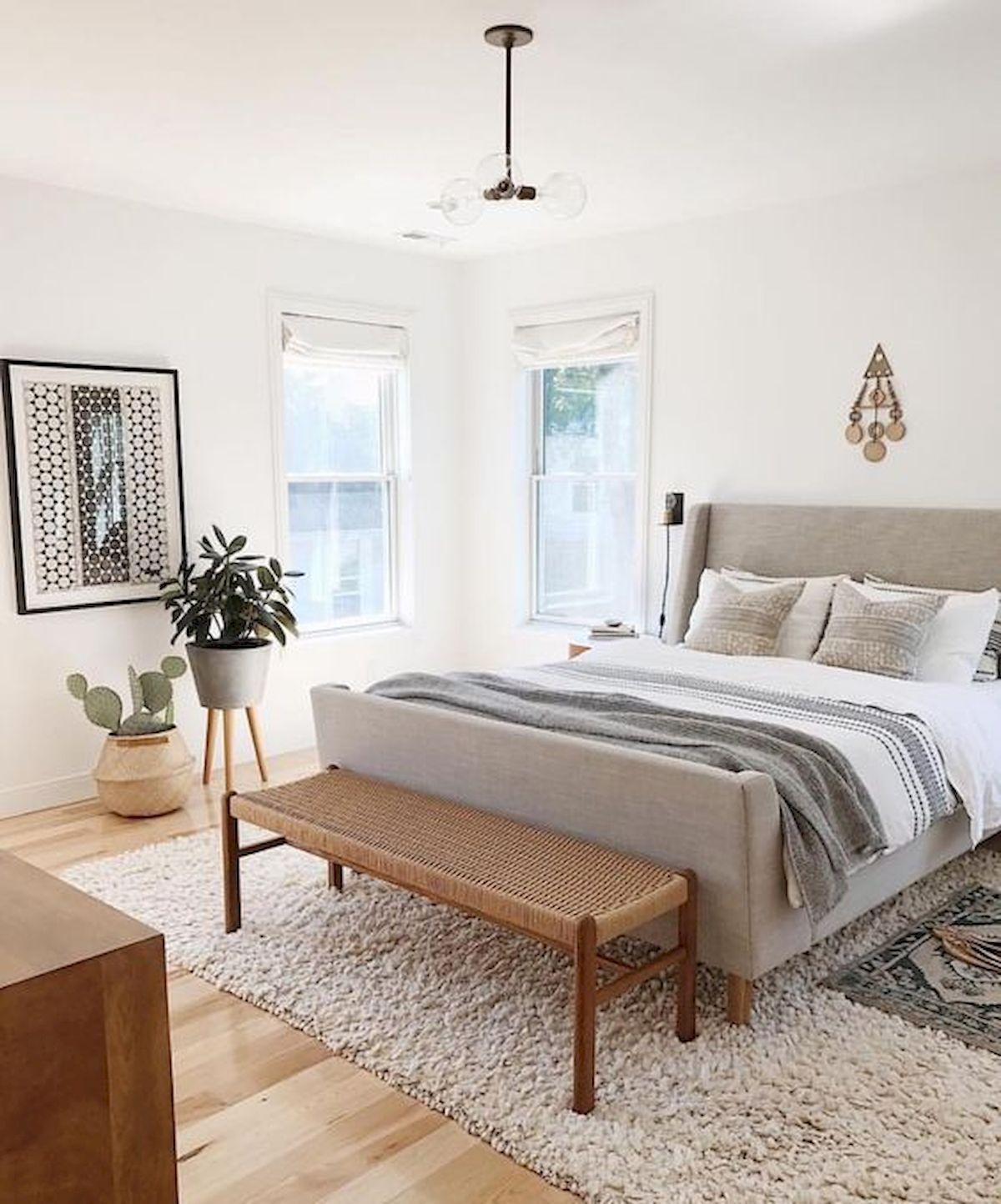 Bedroom Ideas Gray Sleigh Bed Bedroom Ideas Small Bedroom Wall Art Bedroom Bench Stool: 120 Awesome Farmhouse Master Bedroom Decor Ideas