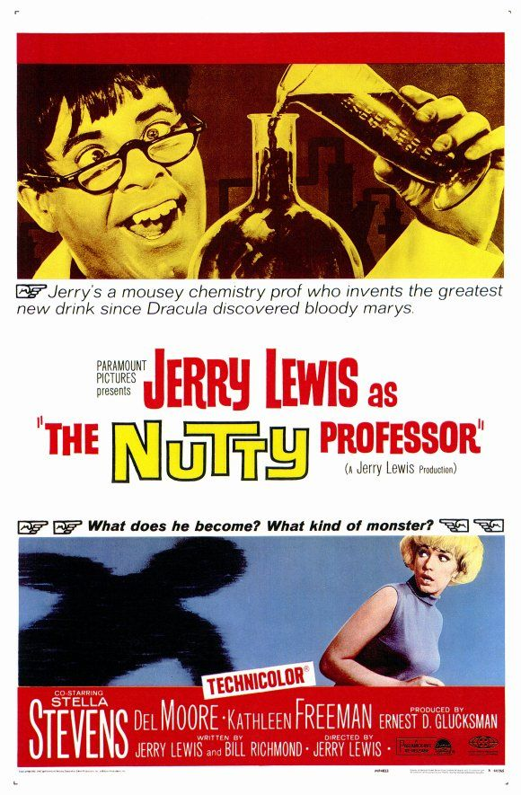The Nutty Professor Science Fiction Comedy Film By Jerry Lewis