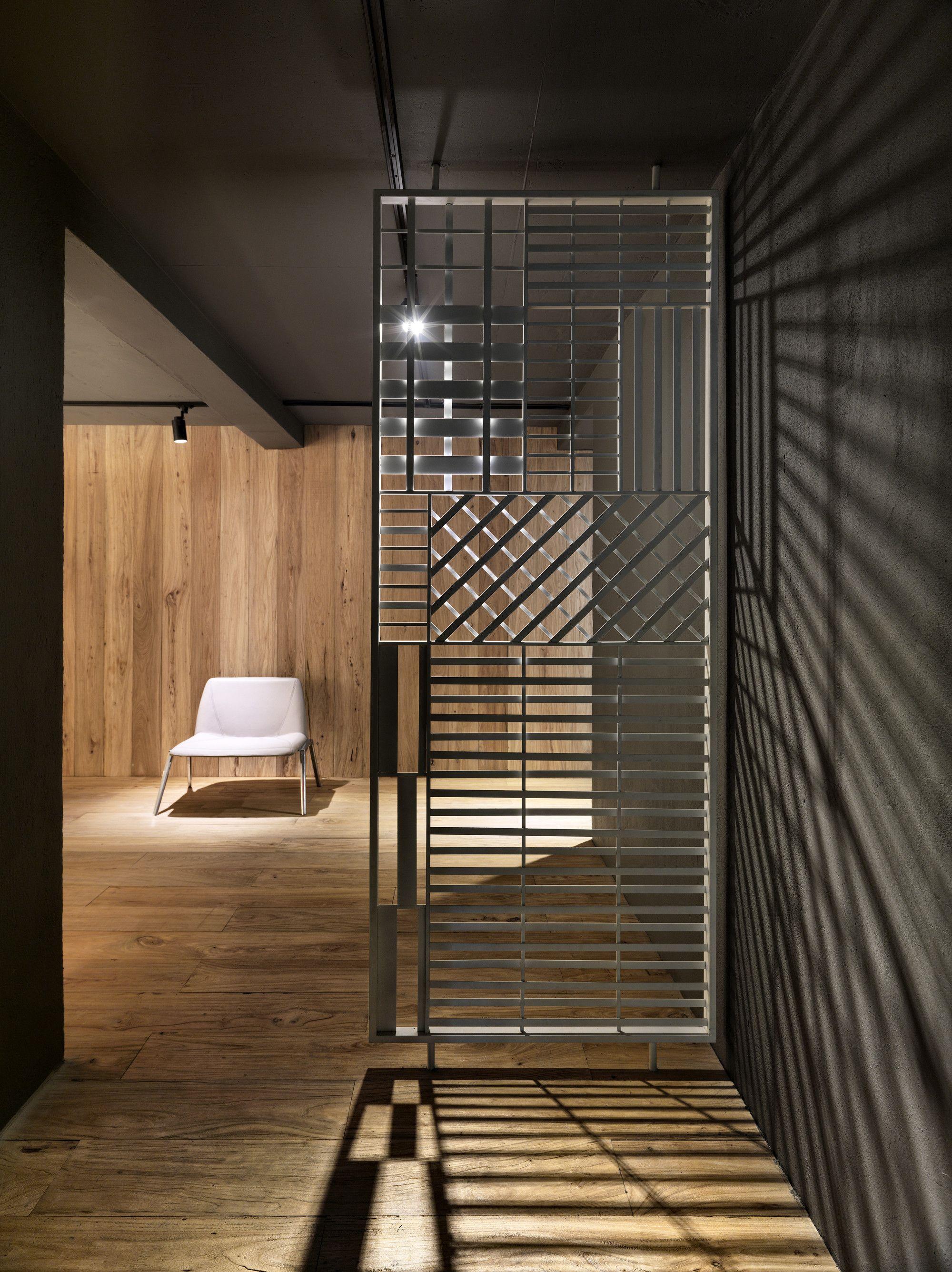 Gallery Of Tales Pavilion Luca Nichetto 8 Metal Room Divider Room Divider Screen Interior