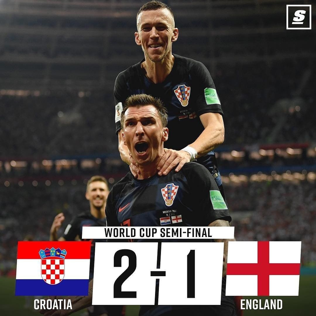 England Is Going Home Full Time Croatia Vs England 2 1 Fifa World Cup 2018 Russia World Of Sports World Cup World Cup Semi Final