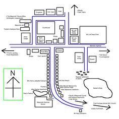 Tkam Maycomb Map Wwwescharnian Talescom | Novels & Short Stories ...