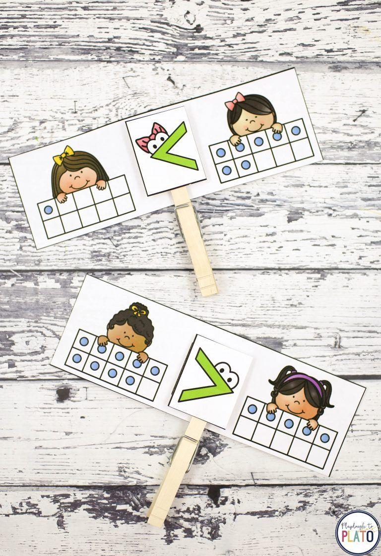 Working on comparing numbers?! This mega pack of motivating, hands-on activities is a must-try. All eight games include easy ways to differentiate so you can quickly stretch students who are ready for a challenge or provide support for kids who need extra practice. The eight comparing numbers games are perfect for preschool or kindergarten! **Affiliate Link