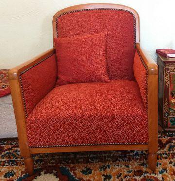 Les Belles Assises - Réfection complète d\'un fauteuil \