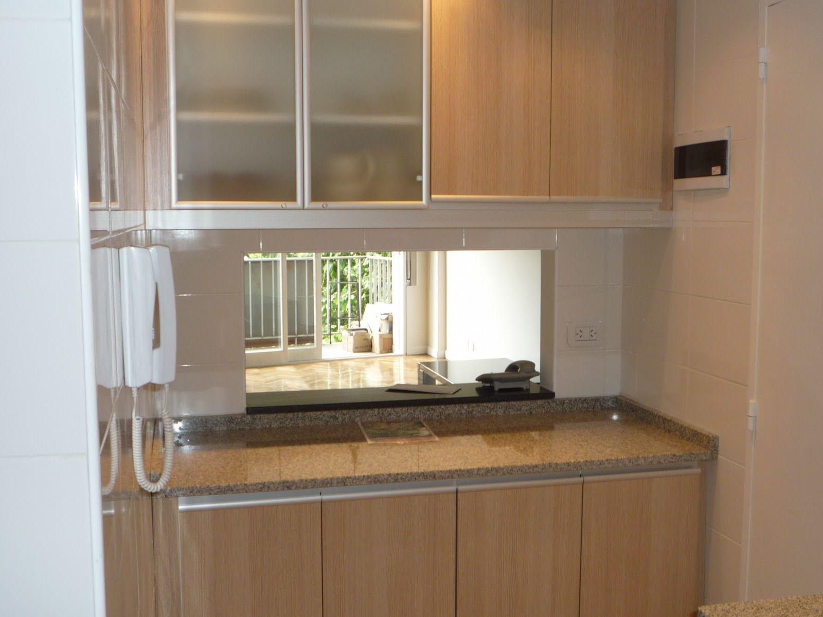 Cocina con pasaplatos jpg 1600 1200 deco house - Pasaplatos cocina ...