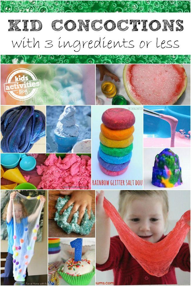 35 Simple Concoctions For Kids Kids Activities Blog Kids
