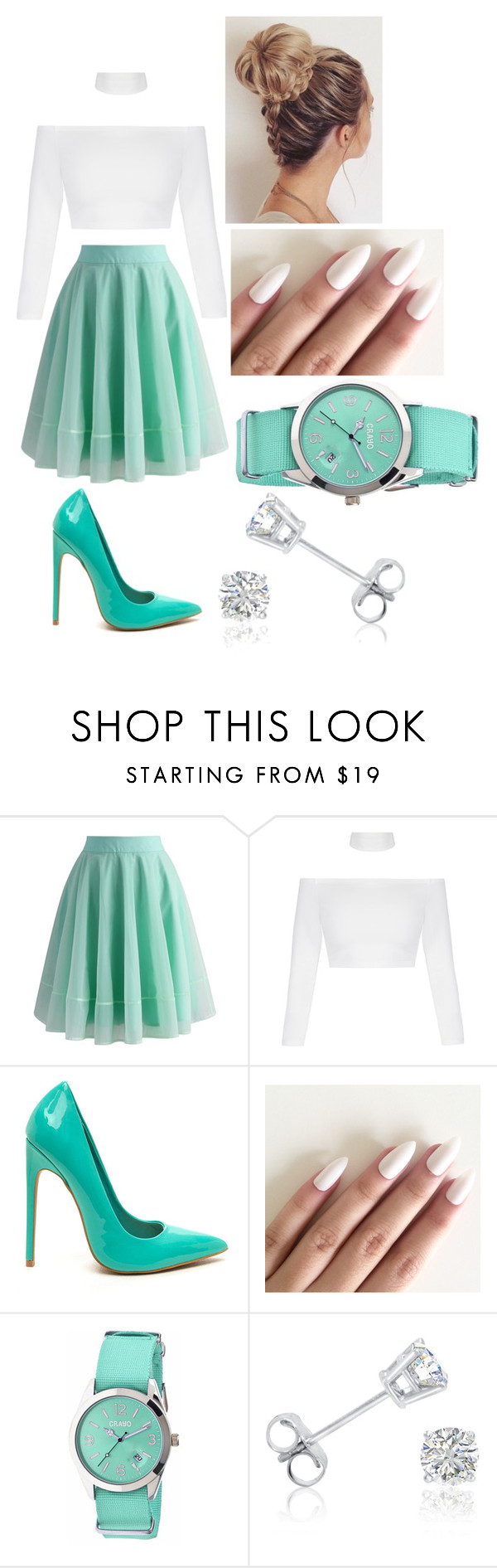 """""""Untitled #247"""" by ats-williams ❤ liked on Polyvore featuring Chicwish, Crayo and Amanda Rose Collection"""