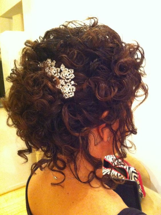 Image result for wedding hairstyles natural curly hair   Wedding ...