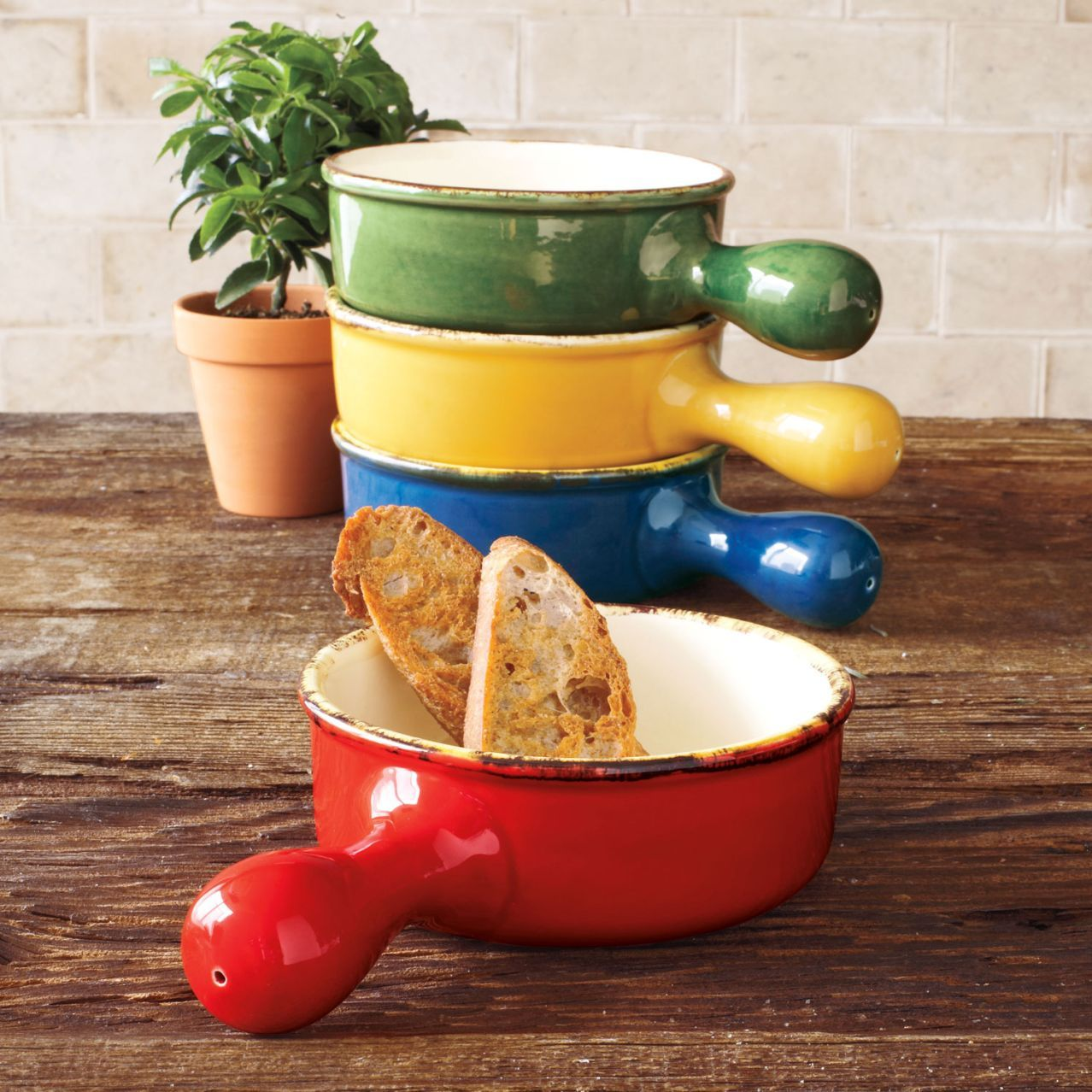 Italian Ceramic One-Handled Soup Bowls | Sur La Table & Italian Ceramic One-Handled Soup Bowls | Sur La Table | Gifts ...