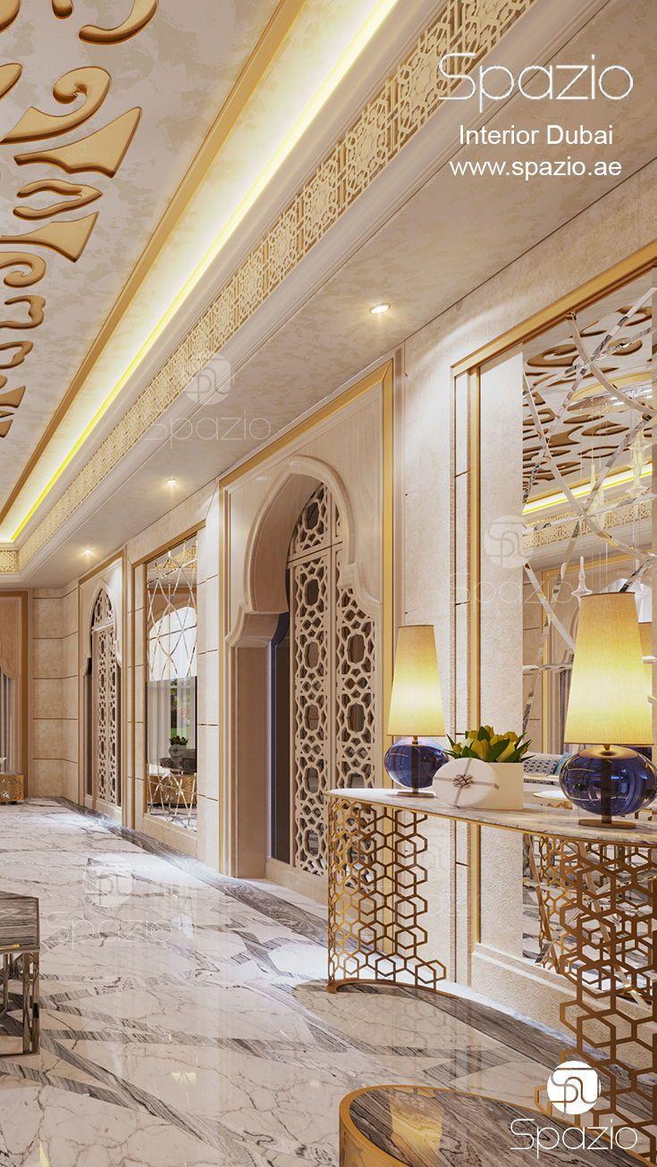 Modern Islamic Interior Design On Behance: Majlis Interior Design In Dubai