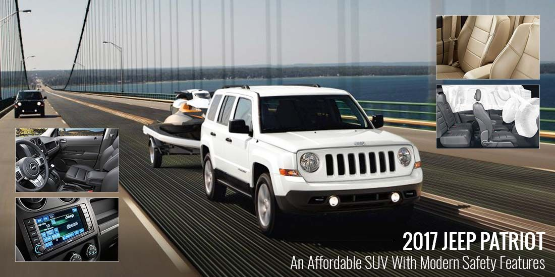 2017 Jeep Patriot comes with modern safety features and