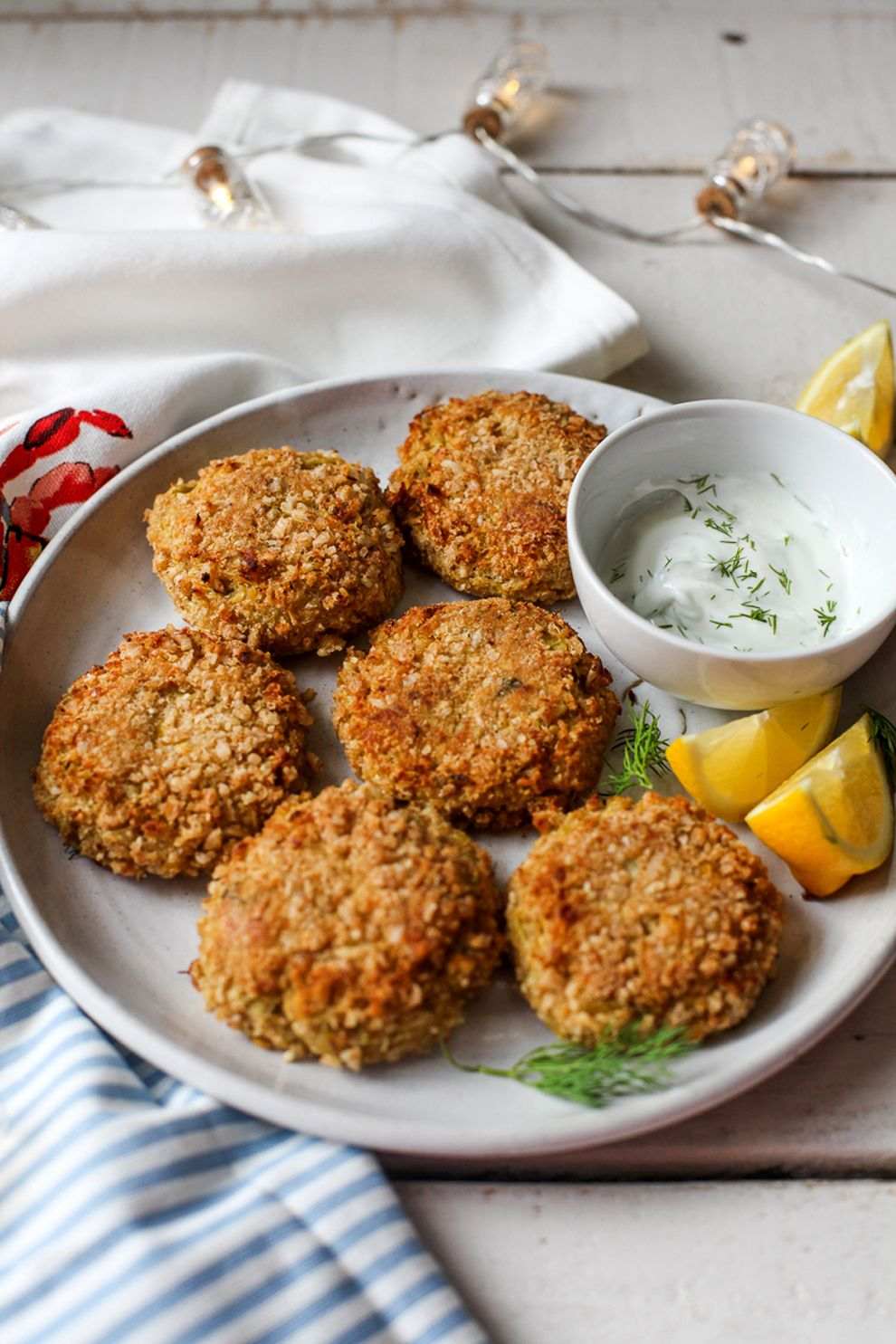 Mock Crab Cakes