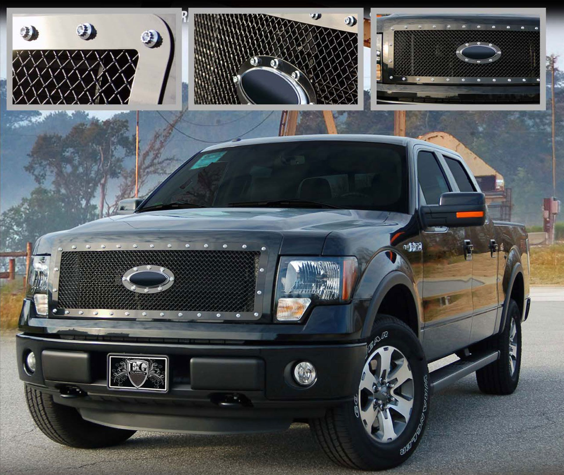 2009 13 Ford F150 E Power Heavy Mesh Style Grille Call For Part Number 1045 0104 09ep Please Note That This Part Fits Ford Trucks Birthday Party Ford Trucks