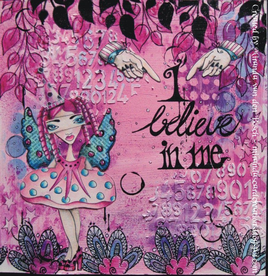 dyan reaveley art | miranda's card creations: I believe in me