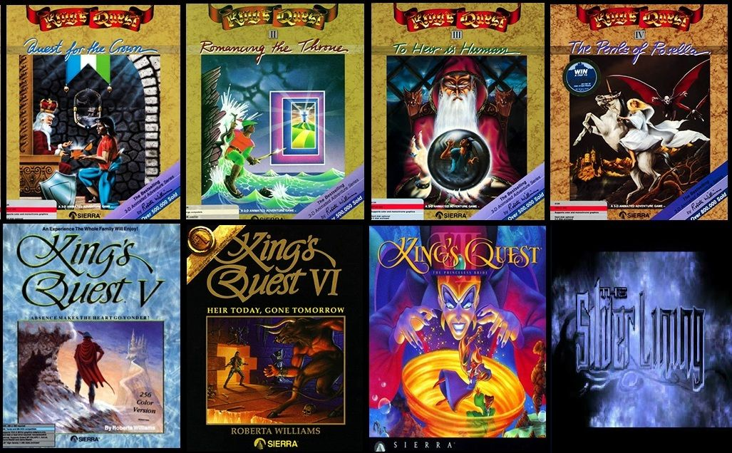 King's Quest Series. My favorite point and click adventure