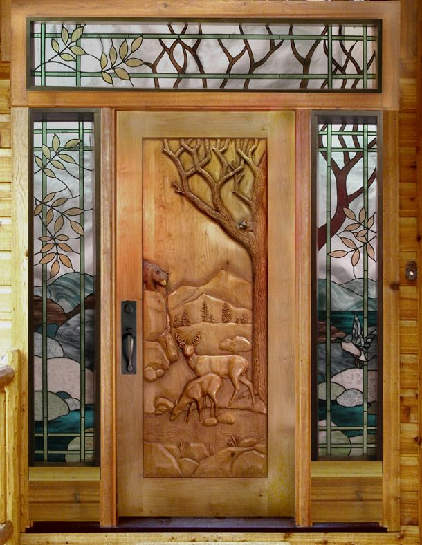Pin By Tami Herrod On Log Cabins And Homes Doors Wood