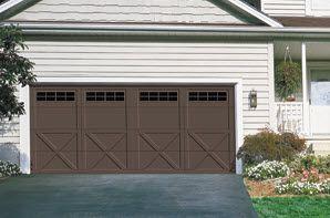 Courtyard Style Garage Doors    Overhead Doors Charlotte