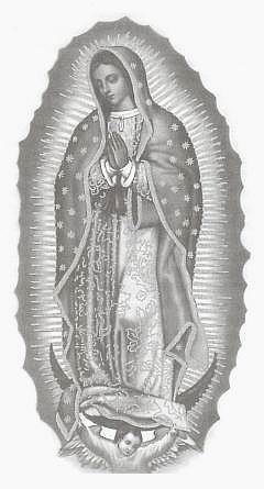 Virgen De Guadalupe Images Black And White Google Search Virgen