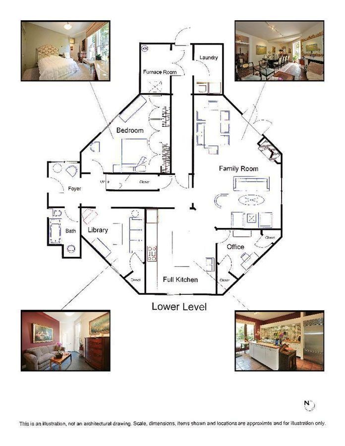 That Other Landmark Octagon House Hacks Its Price Octagon House House Plans House Floor Plans