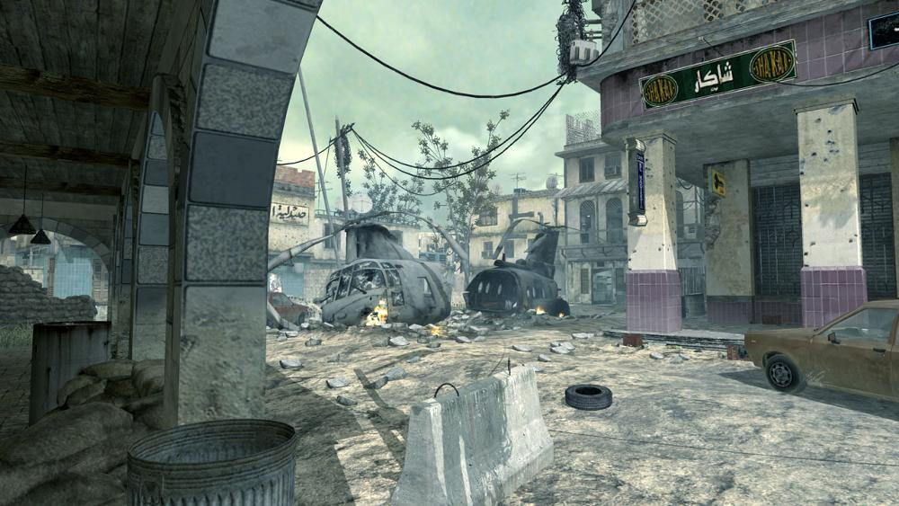 Id Build A Real If Map Of Crash A Multiplayer Map In Call Of Duty 4 Modern Warfare For Paintball Of Course Call Of Duty Cool Backgrounds Modern Warfare