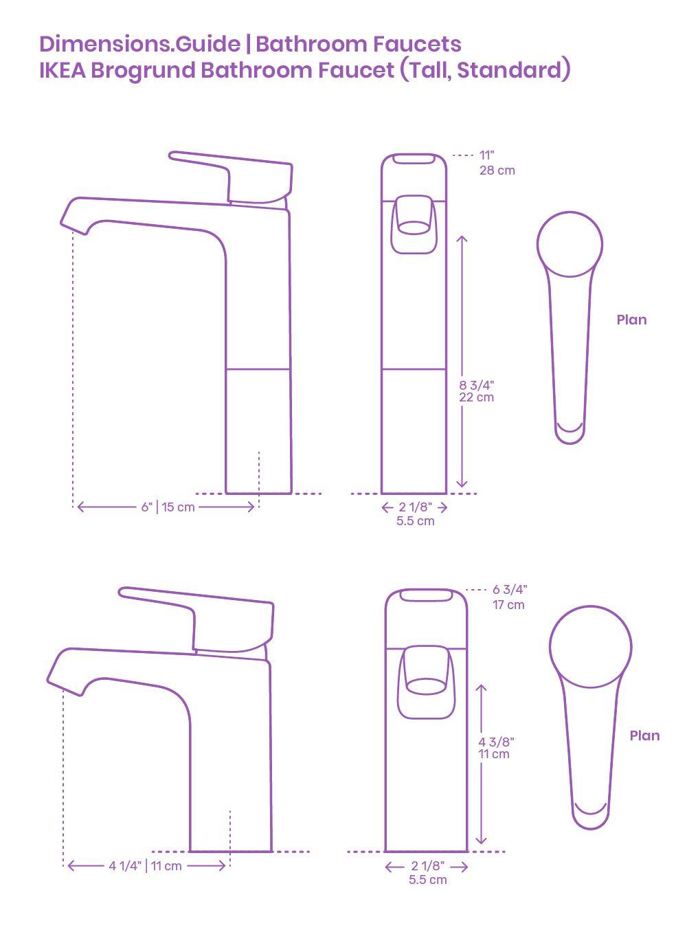 Ikea Brogrund Bathroom Faucet In 2020 Bathroom Faucets Faucet Single Hole Bathroom Faucet