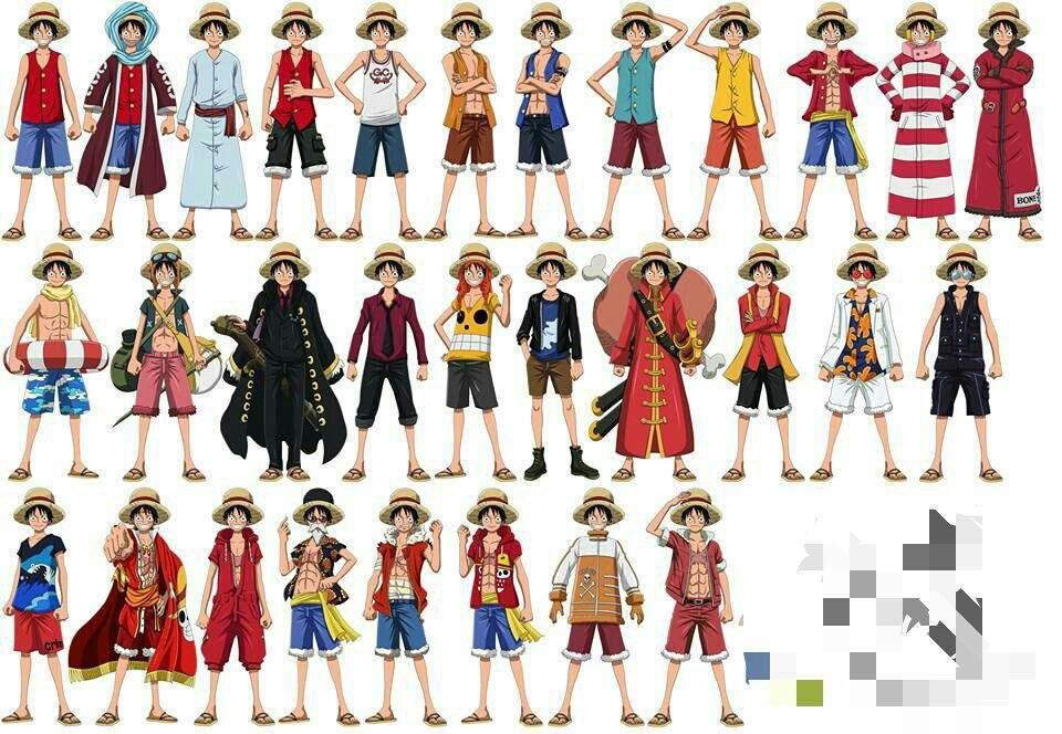 Edit the label text in each row. Jaɾs Wano Szn On Twitter One Piece Outfit One Piece Luffy Outfits