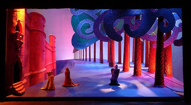 Image result for david hockney set design
